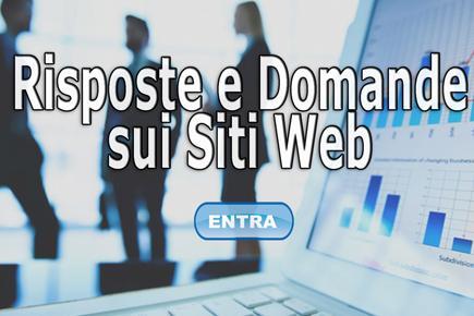 Risposte e Domande sui Siti Web